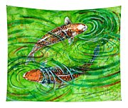 Koi Carps Tapestry