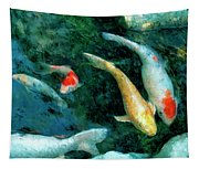 Koi Pond 2 Tapestry