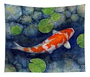 Koi Pond Tapestry
