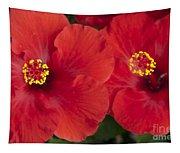 Kokio Ulaula - Tropical Red Hibiscus Tapestry