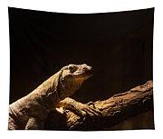 Komodo Dragon Poising Tapestry