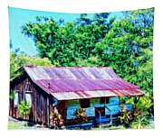 Kona Coffee Shack Tapestry
