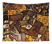 Krumau - Crescent Of Houses. The Small City V Tapestry
