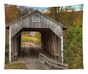 Ky Hillsboro Or Grange City Covered Bridge Tapestry
