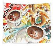 La Laguna Churros Y Chocolate Tapestry