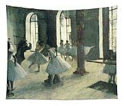 La Repetition Au Foyer De La Danse Tapestry