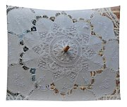 Lace Umbrella Tapestry