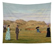 Ladies Match At Westward Ho Tapestry