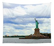 Lady Liberty B Tapestry