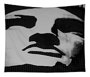 Lady Liberty In Black And White Tapestry