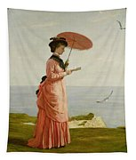 Lady Tennyson On Afton Downs Tapestry