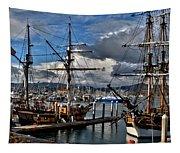 Lady Washington - Hawiian Chieftain Tapestry