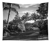 Lahaina Palm Shadows Tapestry