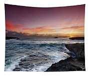 Laie Point Sunrise Tapestry