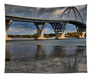 Lake Champlain Tied Arch Bridge Tapestry