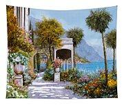 Lake Como-la Passeggiata Al Lago Tapestry