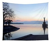 Lake Constance Sunrise Tapestry