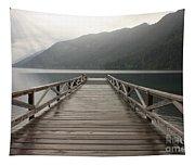 Lake Crescent Dock Tapestry