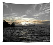 Lake Erie Lights Tapestry