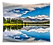 Lake In The Mountains Tapestry