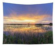 Lake Jackson Sebring Florida Panorama Tapestry