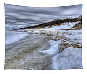Lake Michigan Shelf Ice Tapestry