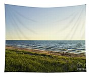 Lake Michigan Shoreline 01 Tapestry