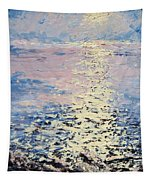 Lake Michigan Sunrise Tapestry