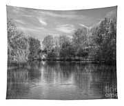 Lake Reflections Mono Tapestry