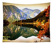 Lake Scene H A Tapestry
