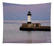 Lake Superior Lighthouse Tapestry