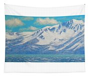 Lake Tahoe After The Storm Triptych Tapestry