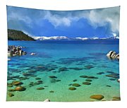 Lake Tahoe Cove Tapestry