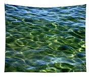 Lake Tahoe Swirls Abstract Tapestry