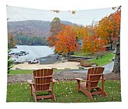 Lake Toxaway Marina In The Fall Tapestry