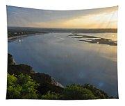 Lake Travis Sunset Tapestry
