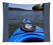 Lake View From Kayak Tapestry