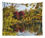 Lake Winona Autumn 15 Tapestry
