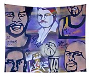 Lakers Love Jerry Buss 2 Tapestry