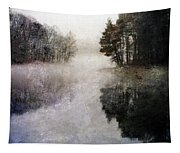 Lakeside Trees Tapestry
