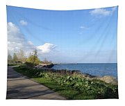 Lakeside Walk Tapestry