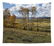 Lamar Valley In The Fall - Yellowstone Tapestry