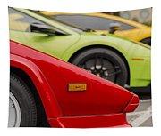 Lamborghini Countach Nose Tapestry