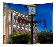 Lamp Post Tapestry