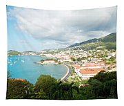 Land And Sea Tapestry