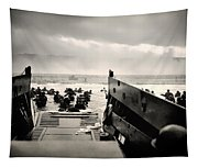 Landing At Normandy On D-day Tapestry