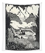Landors Cottage Tapestry