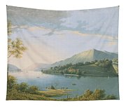 Landscape Along The Rhine Tapestry