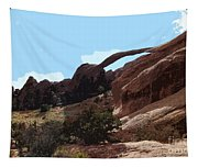 Landscape Arch In Arches National Park Tapestry