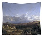 Landscape In Dauphine Tapestry